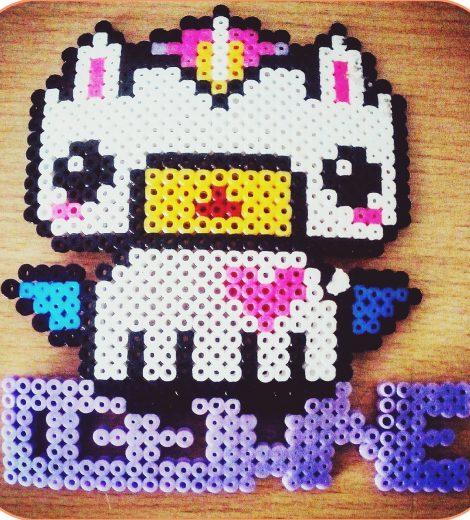 Pixel Art : Dessine avec des perles
