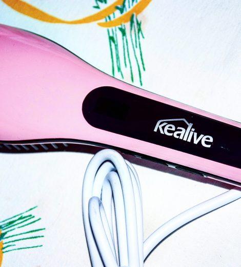 La brosse lissante Kealive ; j'en suis raide dingue !