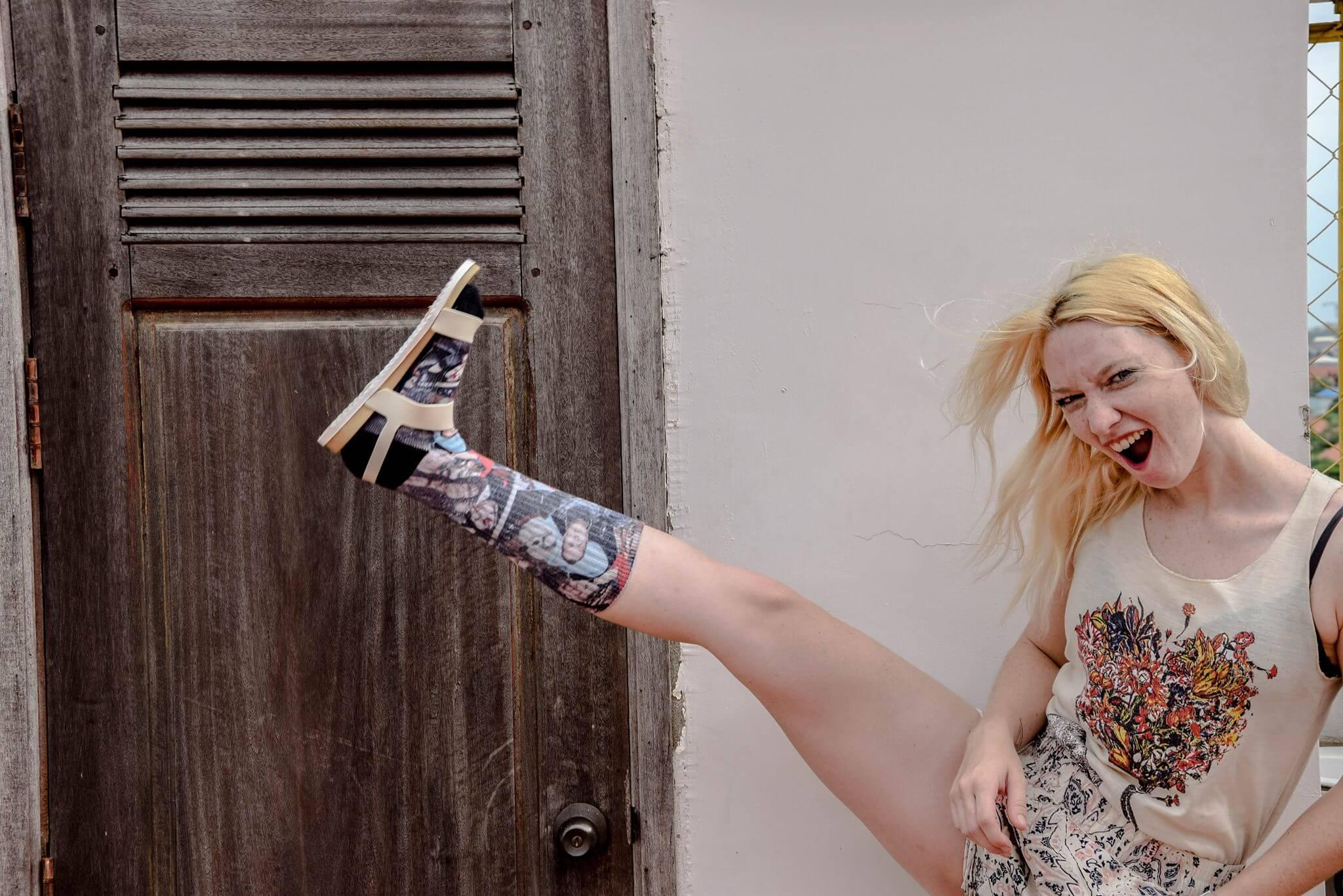claquette-chaussette- claquette chaussette- blogueuse-mode-lifestyle