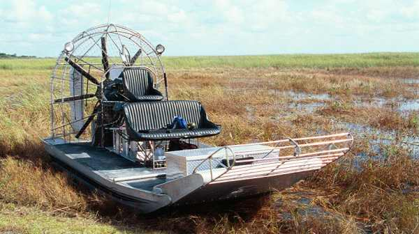 everglades-hydroglisseur-air boat-