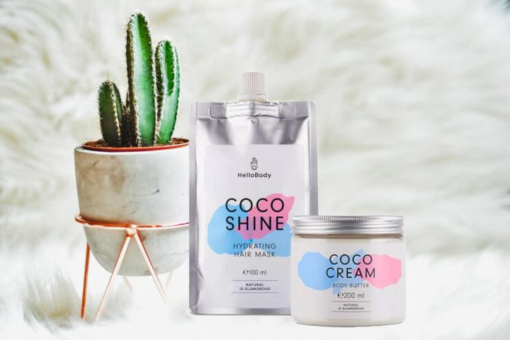Hello Body Coco Cream Coco Shine La revue de Kathleen Blog lifestyle