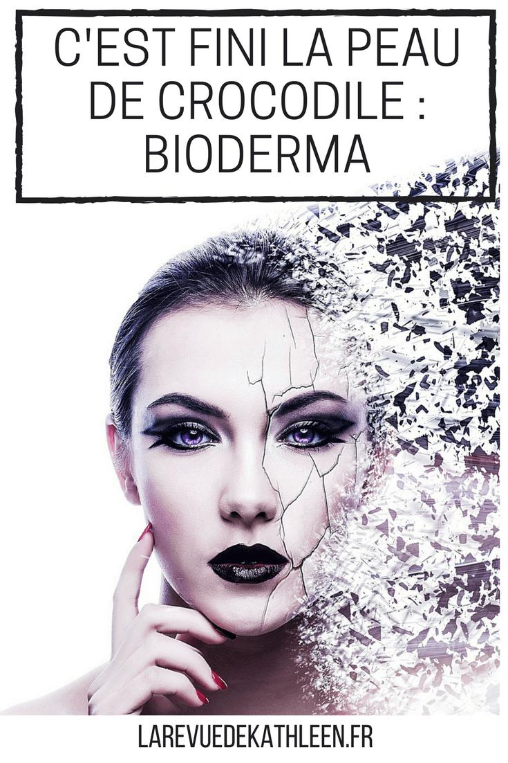 Avec Hydrabio de Bioderma la peau de crocodile c'est fini !