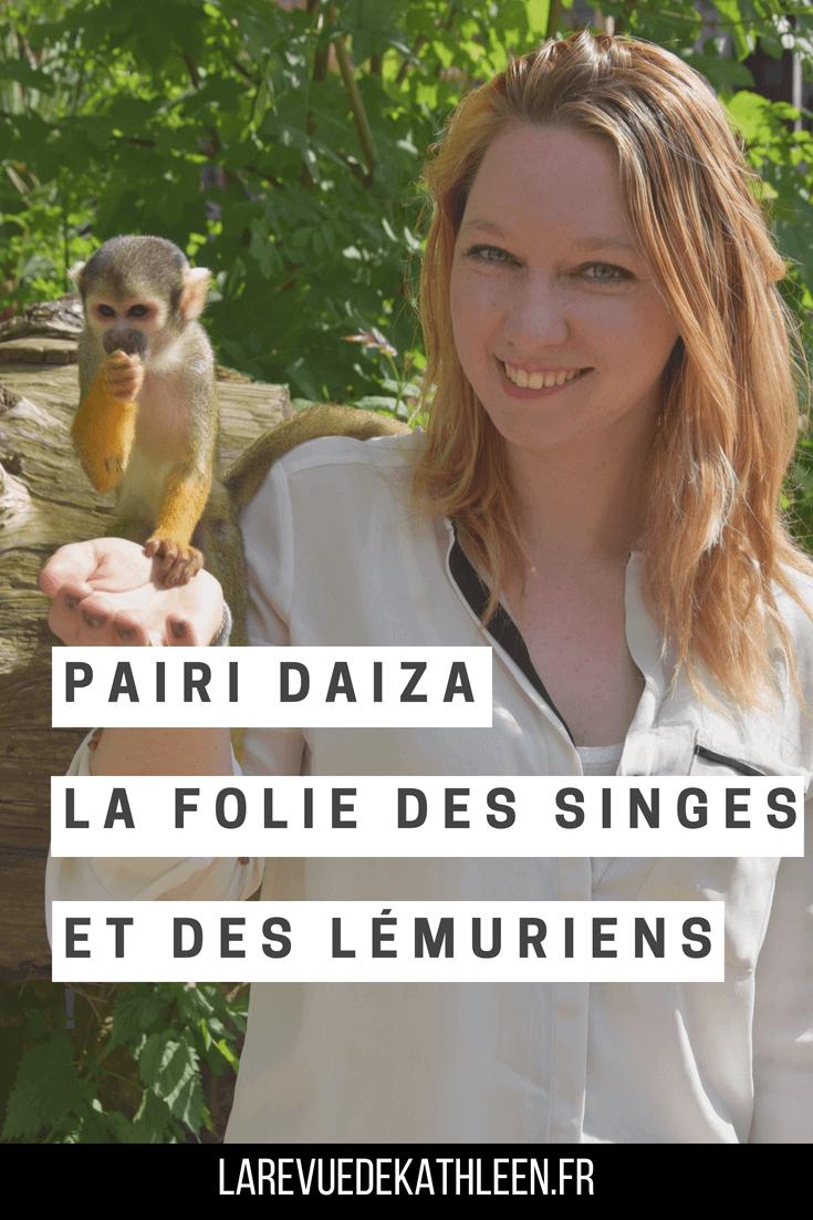 Pairi Daiza : La folie des singes et des lémuriens ! - la revue de kathleen - blog lifestyle