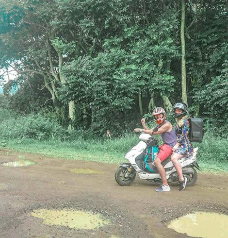 Louer un scooter à Bali