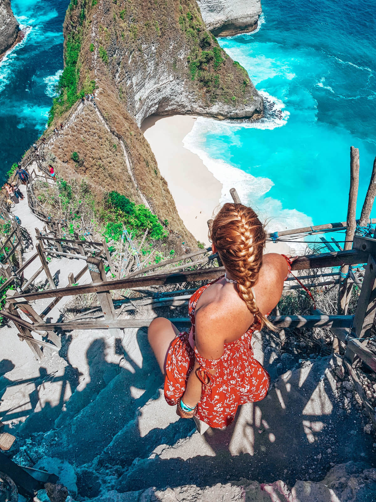 Kelingking beach-Nusa Penida-Indonesie-La revue de Kathleen-Blog-Lifestyle-voyage-Paris