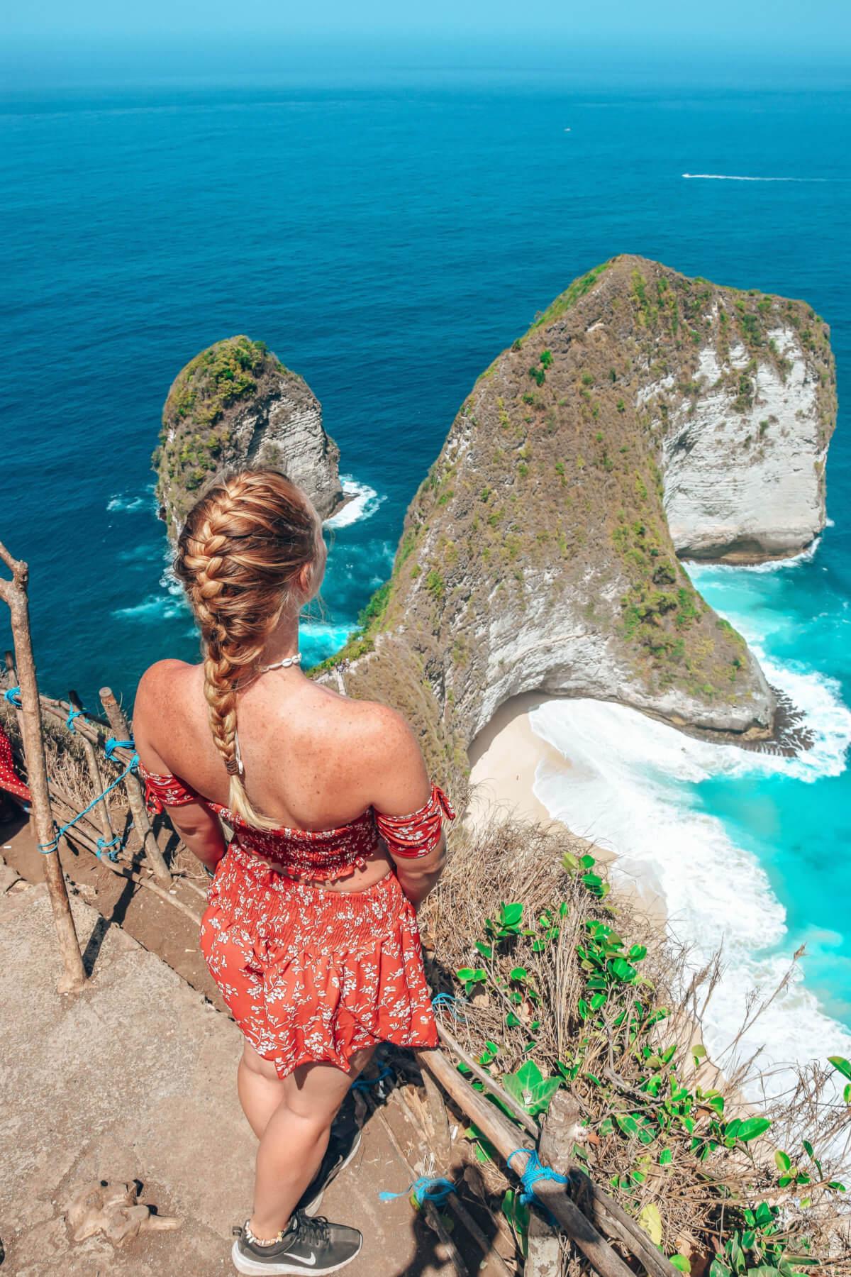 Kelingking beach-Nusa Penida-Indonésie-La revue de Kathleen-Blog-Lifestyle-voyage-Paris