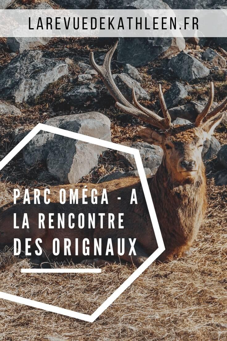 Parc Oméga - Canada - La revue de Kathleen - Blog Lifestyle et voyage à Paris