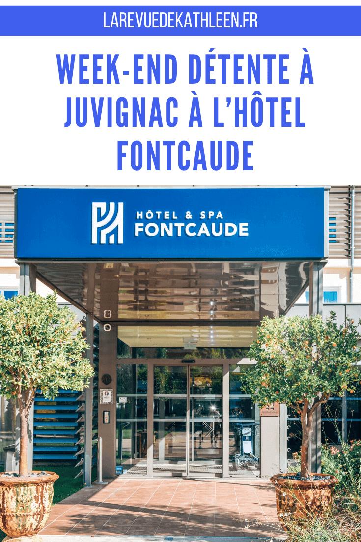 Hotel Fontcaude à Juvignac - La revue de Kathleen - Blog Lifestyle et voyage à Paris