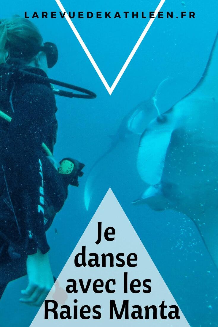 Raies Manta - Nusa Penida - Indonésie - La revue de Kathleen - Blog Lifestyle et voyage à Paris