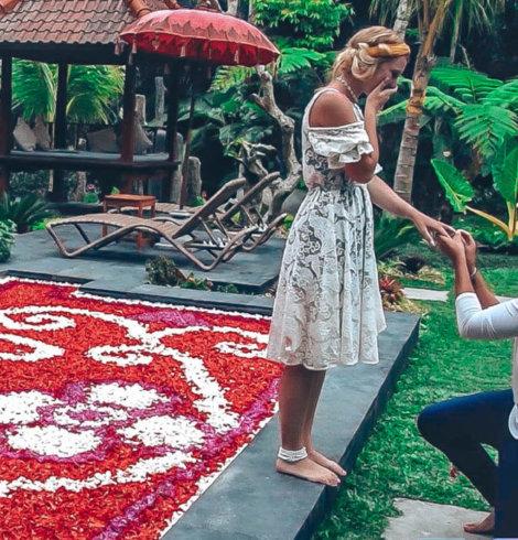 Ma demande en mariage insolite à Bali