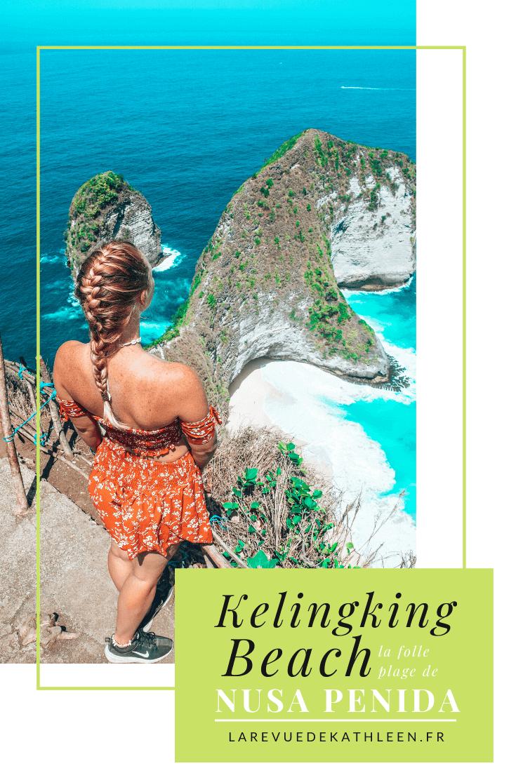 Kelingking beach - Nusa Penida - Indonesie - La revue de Kathleen - Blog Lifestyle et voyage à Paris