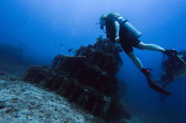 Le US Liberty et les pyramides en plongée sous-marine à Amed – Fab Dive